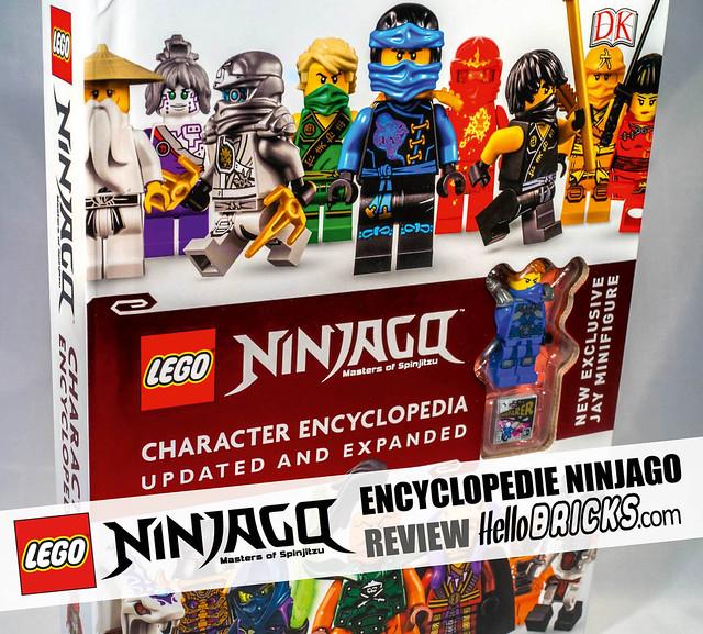 Hellobricks LIVRE LEGO encyclopédie Ninjago