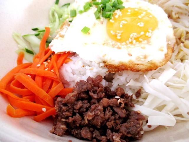 Kimchi Korean bibimbab 2