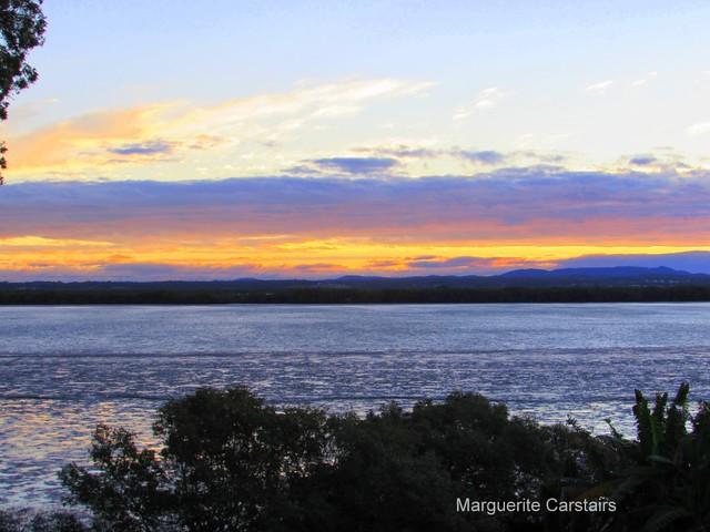 Sunrise and Sunset Russell Island June 2016