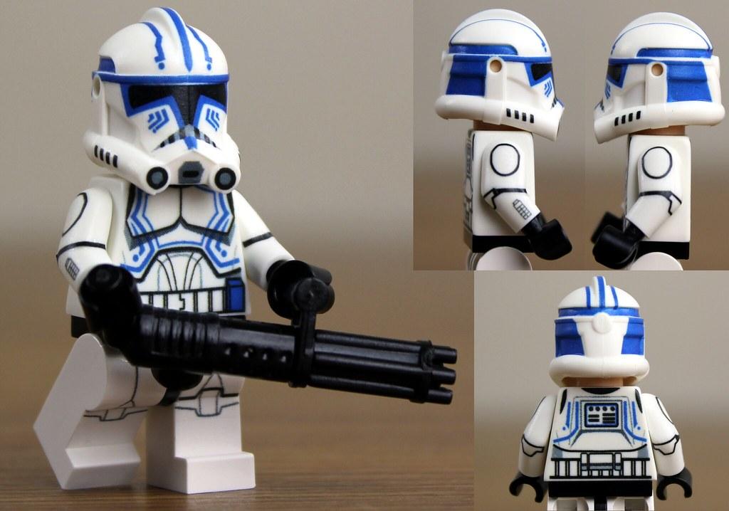 Custom Lego Clone Trooper Hardcase Clone Wars Phase 2