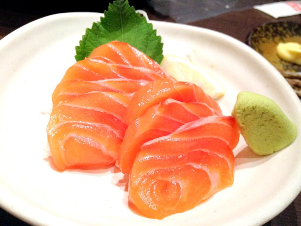 how to make salmon sushimi