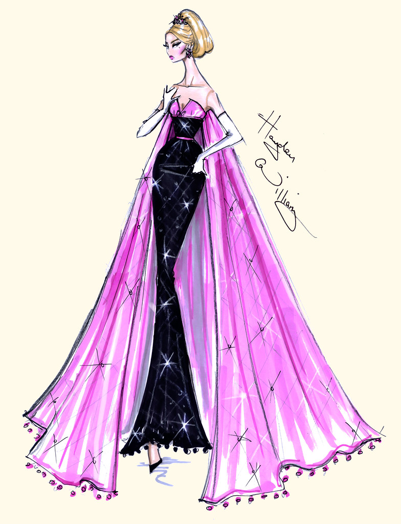 Dress Design Sketches Tumblr