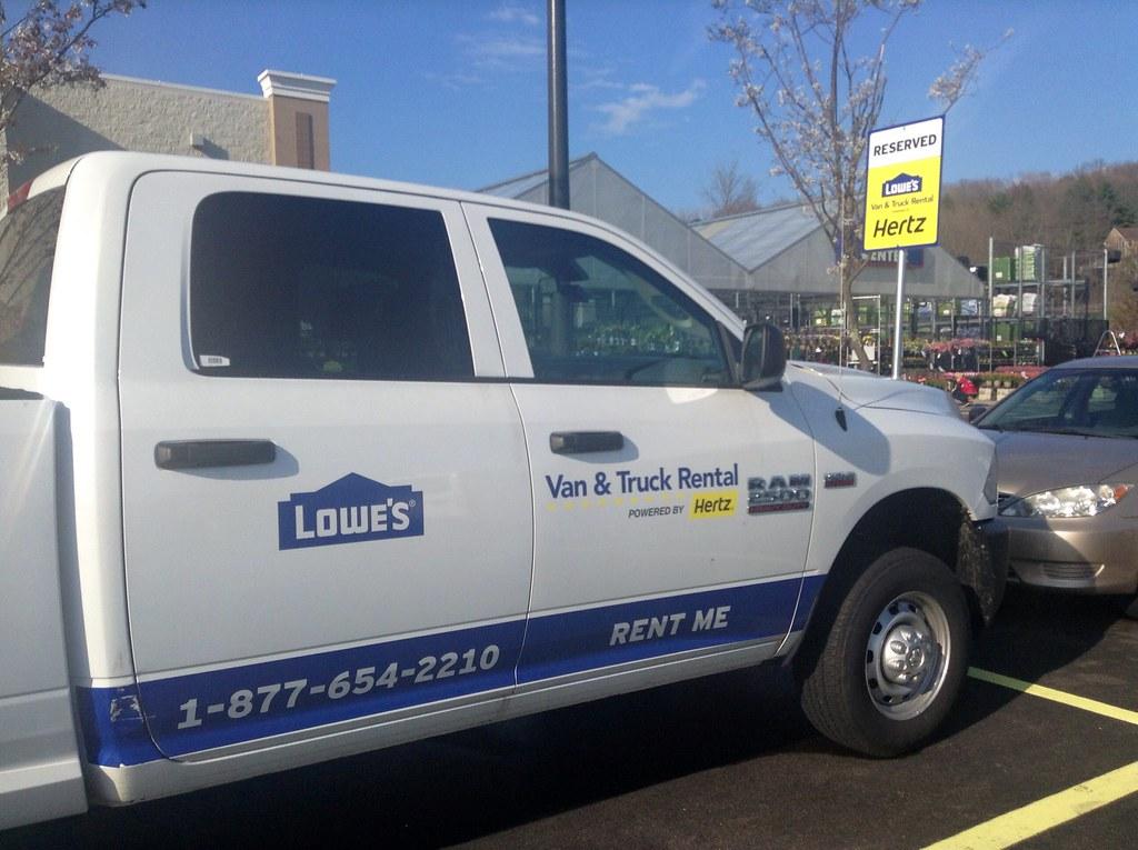 Truck Rental Truck Rental Lowes