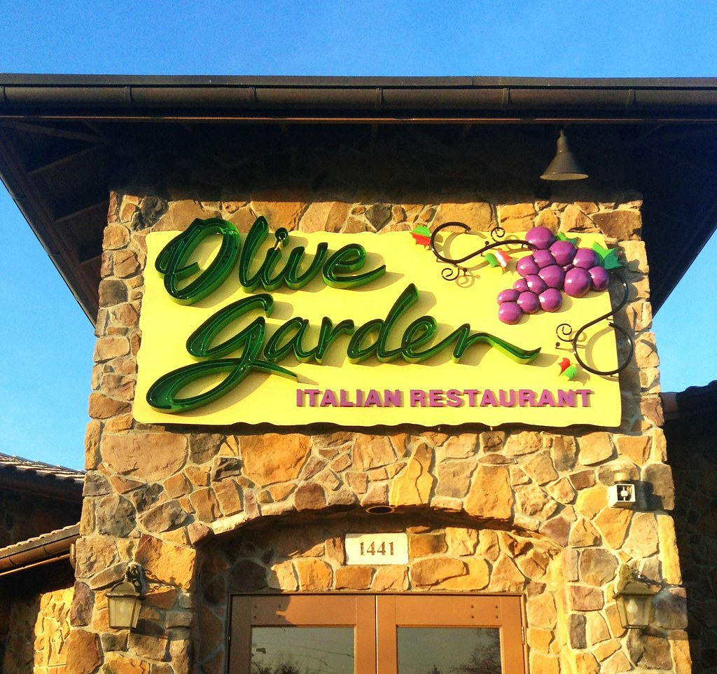 Olive Garden With Amberstone: Olive Garden Restaurant Pics By Mike