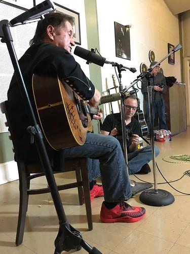 Rockabilly Hall of Famer Art Adams and Dan Hall