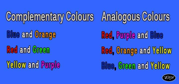 colour groups