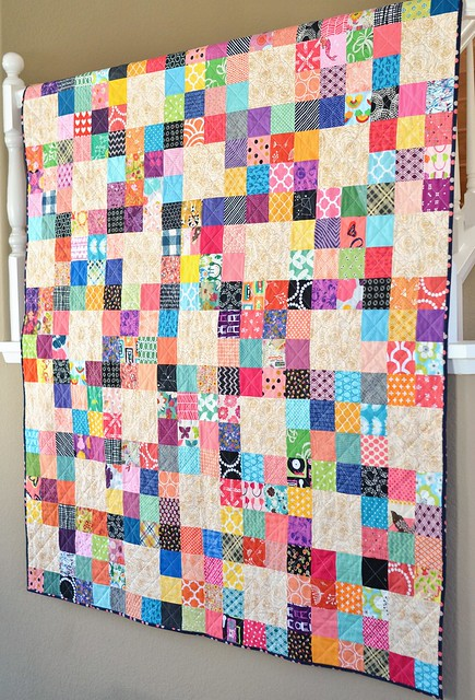 the ugly scrap quilt