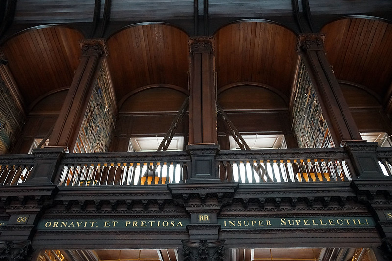 Trinity College Library University Of Dublin Ireland Architecture