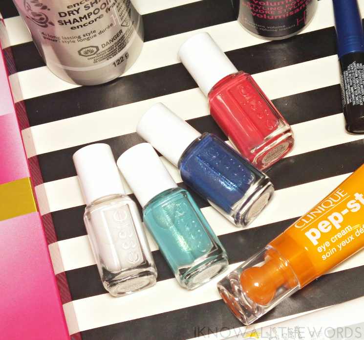 summer survival supplies essie summer minis (1)