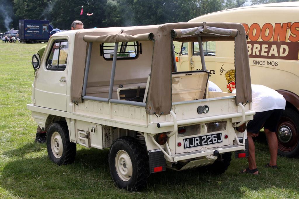 Daimler Puch 4x4 Daimler Puch Haflinger 4x4