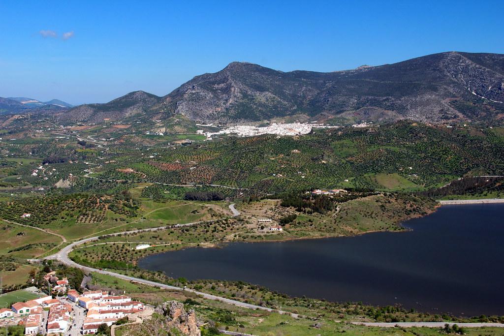 Spanish Landscape Taken Near Ronda In Spain On A