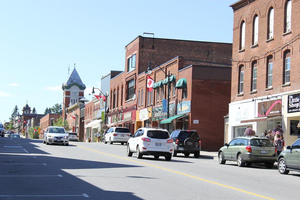 Image result for downtown Bracebridge ontario