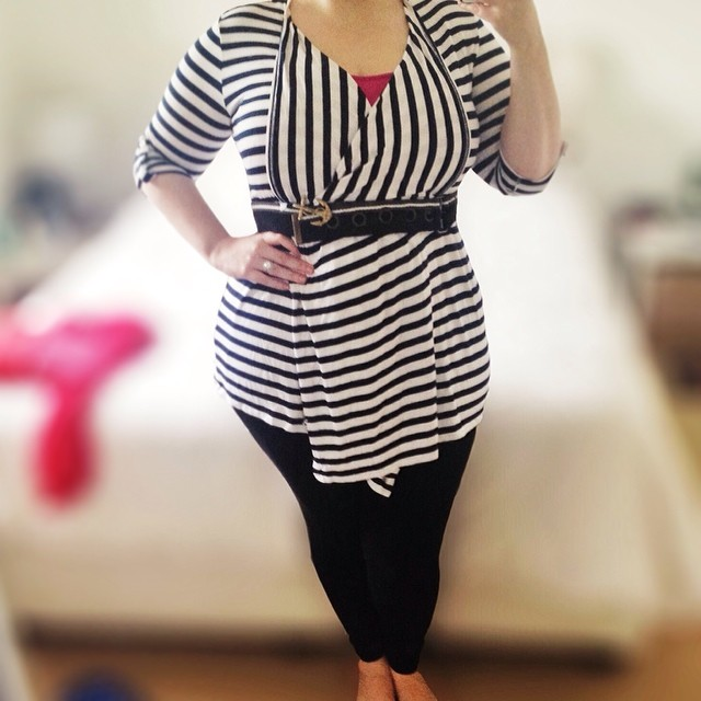 Today's outfit - it's colder than yesterday but goddamn is it humid! #aussiecurves