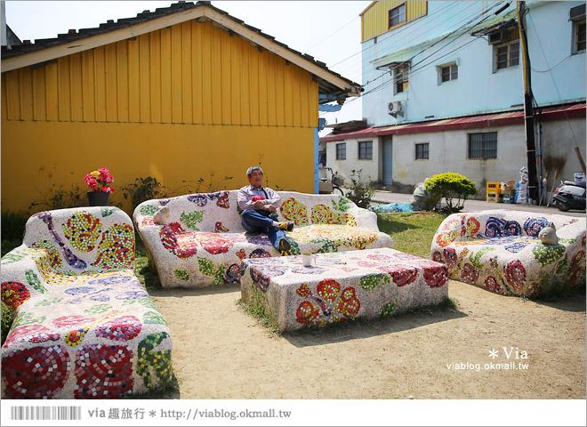 【台南後壁幾米】後壁土溝農村美術館‧農村就是美術館!幾米作品可愛現縱~23