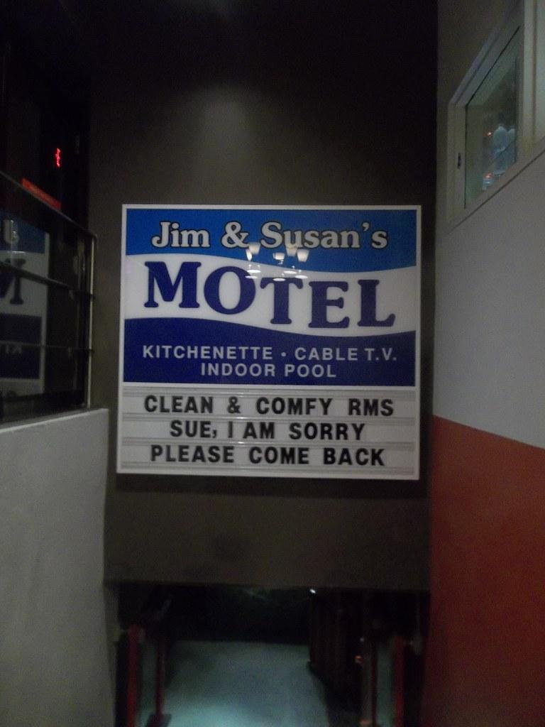 jim susan 39 s motel by ken lum at the drake hotel flickr. Black Bedroom Furniture Sets. Home Design Ideas