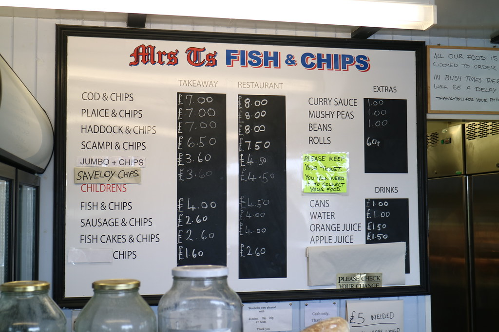 Fish and Chips Southwold Harbour