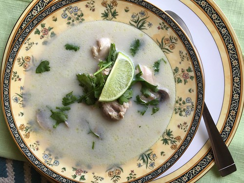 June 24 #dailylunches - Thai coconut soup from Zestible