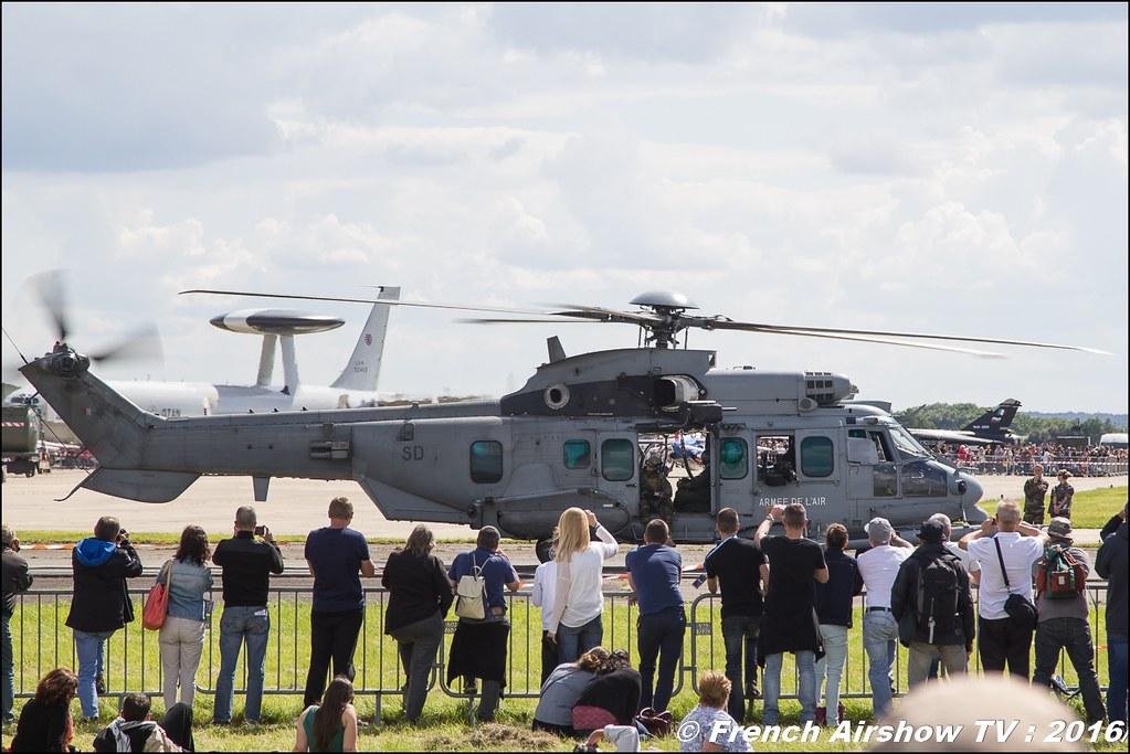 H725M Caracal , EC725 Caracal , Airbus Helicopters , armee de l'air ,Meeting de l'air BA-702 Avord , Meeting Aerien Avord 2016 , FOSA , Armée de l'air , Canon Reflex , EOS System