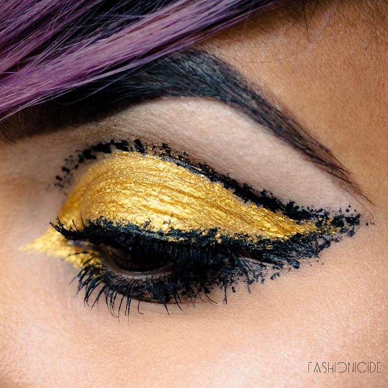 Lime Crime Velvetine Zenon Makeup Look  (3 of 4)