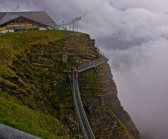 Grindelwald cliff walk