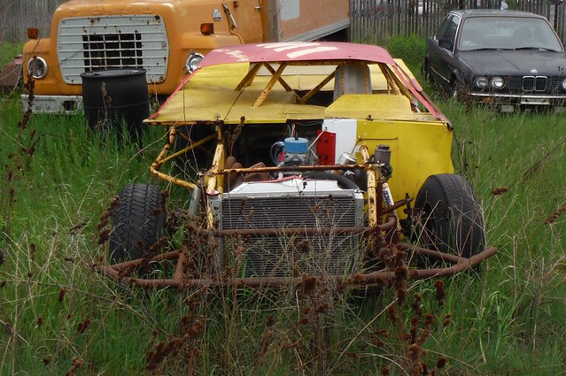 old race car | Flickr - Photo Sharing!