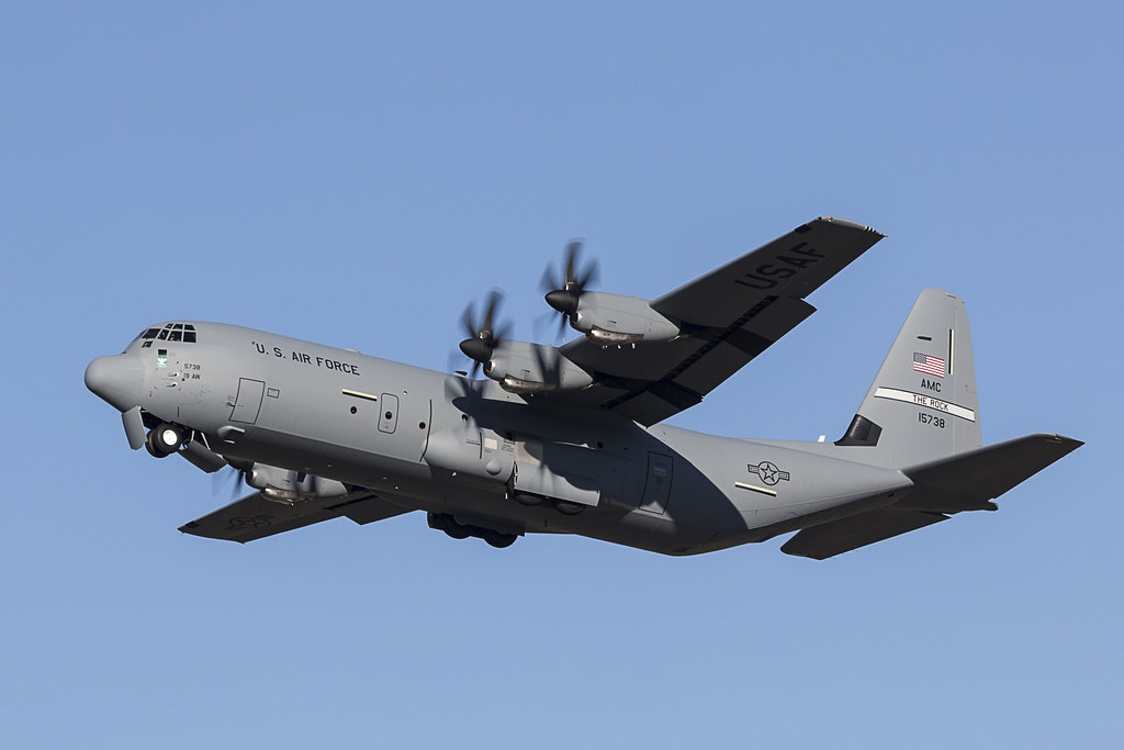 """Elicottero C130 : Another c j rolls out to """"the rock on dec"""