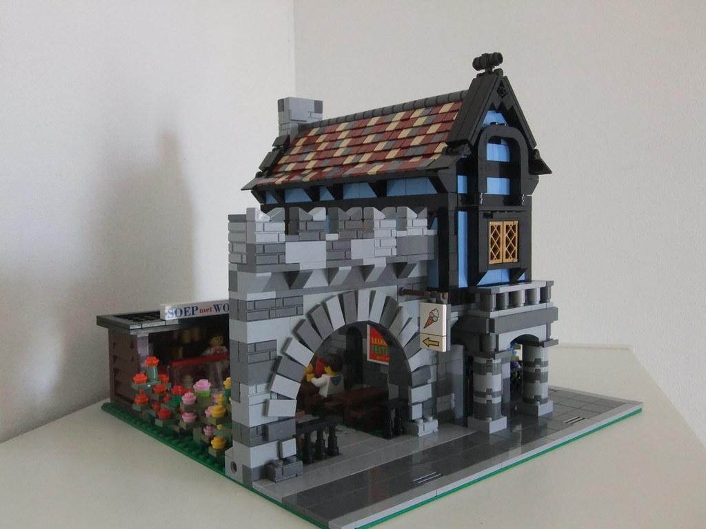 lego minecraft micro world village instructions
