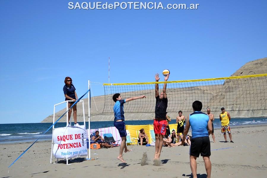 Beach Volley en Rada Tilly