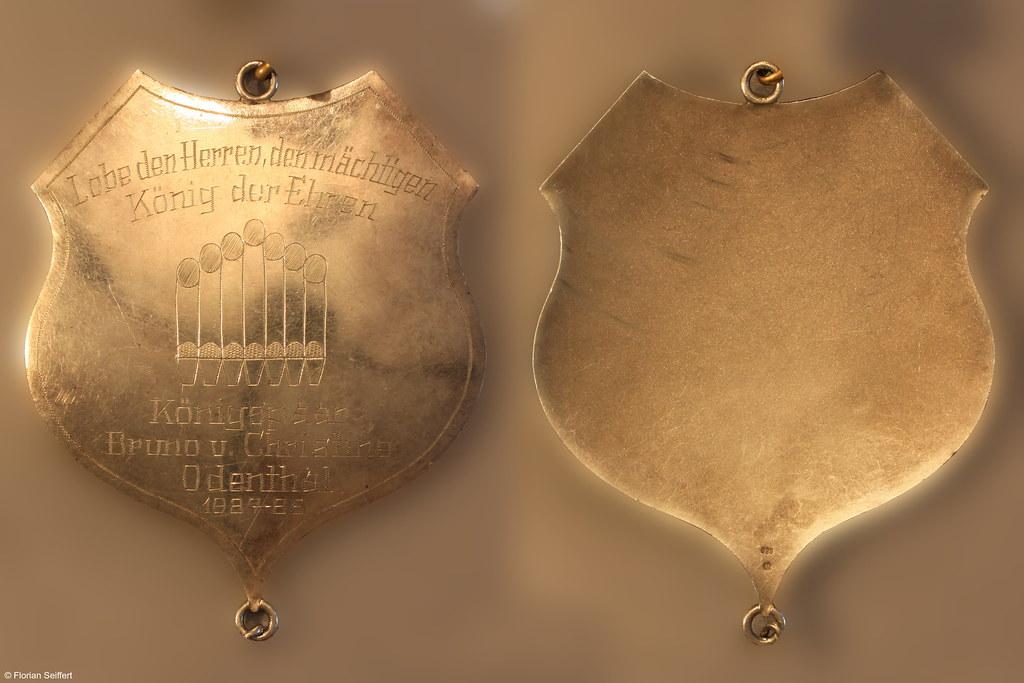 Koenigsschild Flittard von odenthal bruno aus dem Jahr 1987
