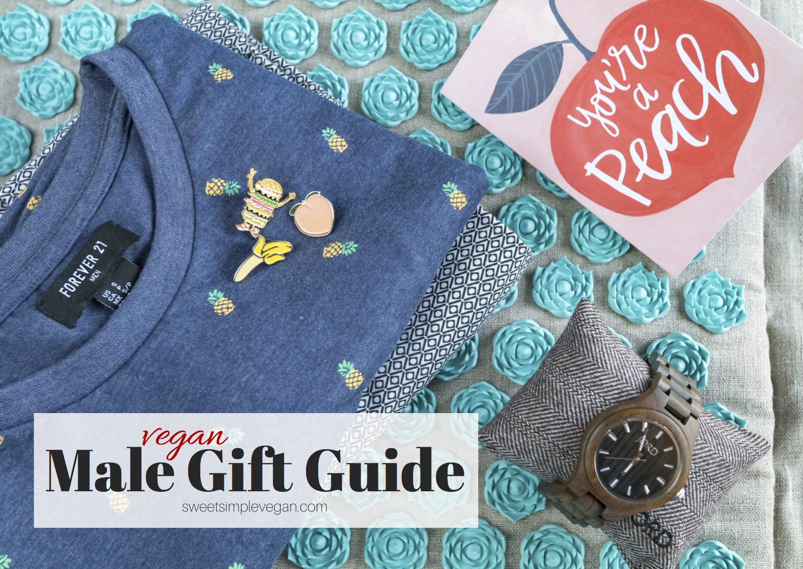 Vegan Male Gift Guide Fathers Day Birthday Presents