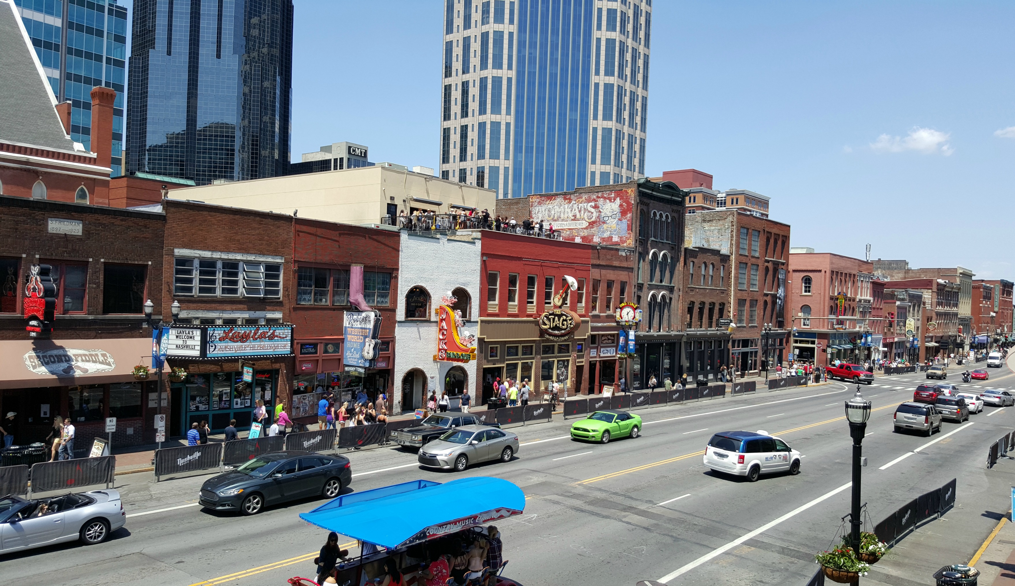 Lower Broadway Nashville
