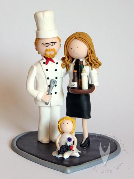 Koch Brautpaar Familie Hochzeitstortenfigur Tortenfiguren Flickr