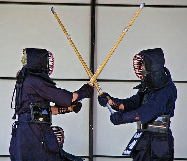 Choyokan kendo dojo ginza festival chicago flickr for Kendo dojo locator