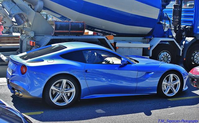 Blue Ferrari F12 Berlinetta | Flickr - Photo Sharing!
