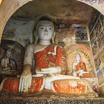 Buddha's at Phowintaung caves