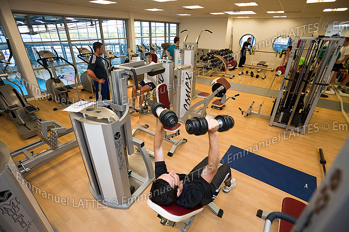 salle de musculation et de cardio de la piscine d flickr