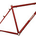 Gunnar Grand Tour in Sunset Red over Brickyard Red with Bullseye Decals