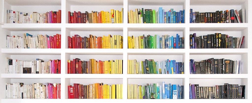 bookshelf colors 1