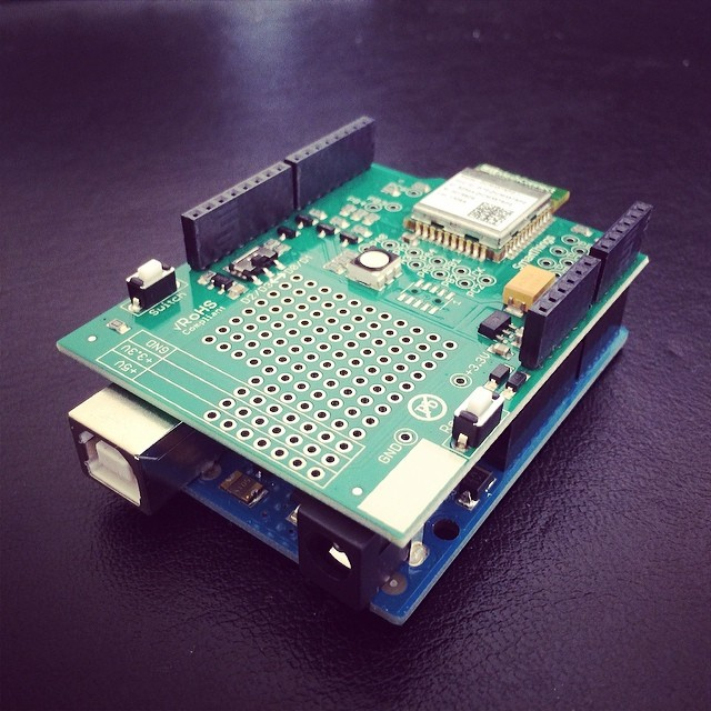 Smartthings shield on arduino uno board let s see what