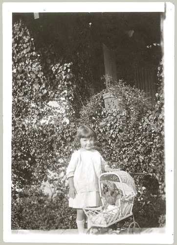 Child and baby buggy