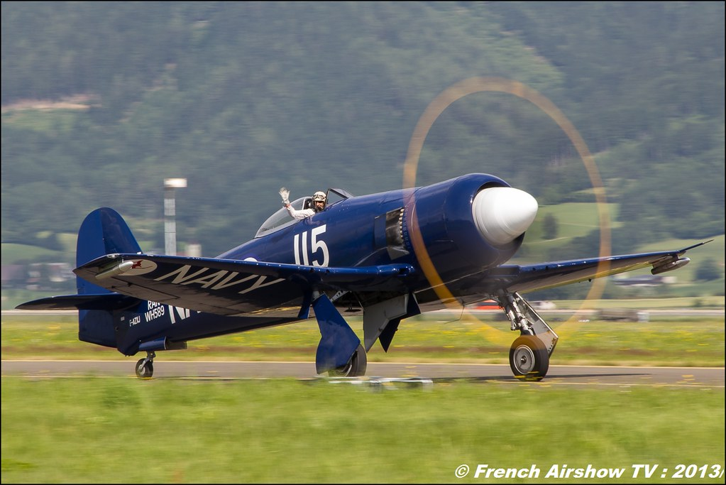 Hawker Sea Fury FB.11 F-AZXJ , Airpower 2013 , Zeltweg Austria Airshow, Airpower13, Meeting Aerien 2015