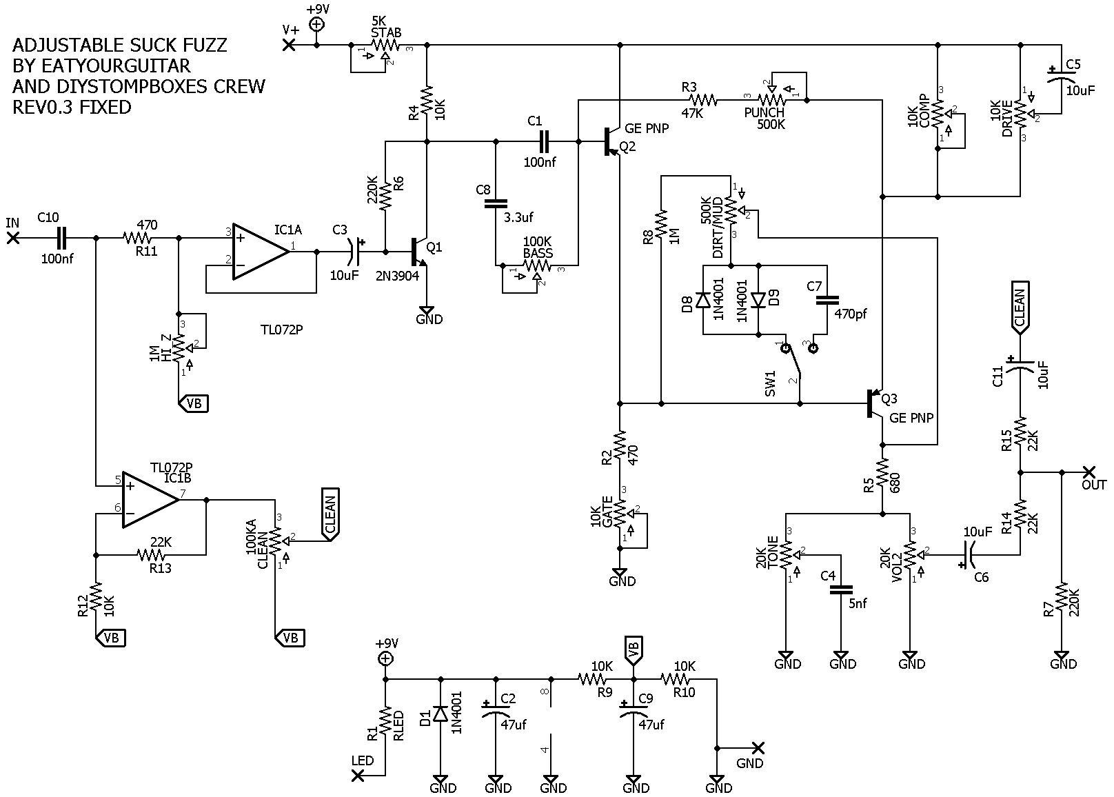 Fuzz Pedal Schematic Pdf - DIY Enthusiasts Wiring Diagrams • on fuzz pedal layout, vibrato pedal schematic, love pedal schematic, bass fuzz schematic, fuzz face schematic, muff fuzz schematic, fuzz pedal capacitor, compressor pedal schematic, fuzz pedal board, sustain pedal schematic, npn fuzz schematic, wah pedal schematic, tone pedal schematic, sam ash fuzz schematic, distortion pedal schematic, keeley fuzz head schematic, tremolo pedal schematic, loop pedal schematic, animal pedal schematic, germanium fuzz schematic,