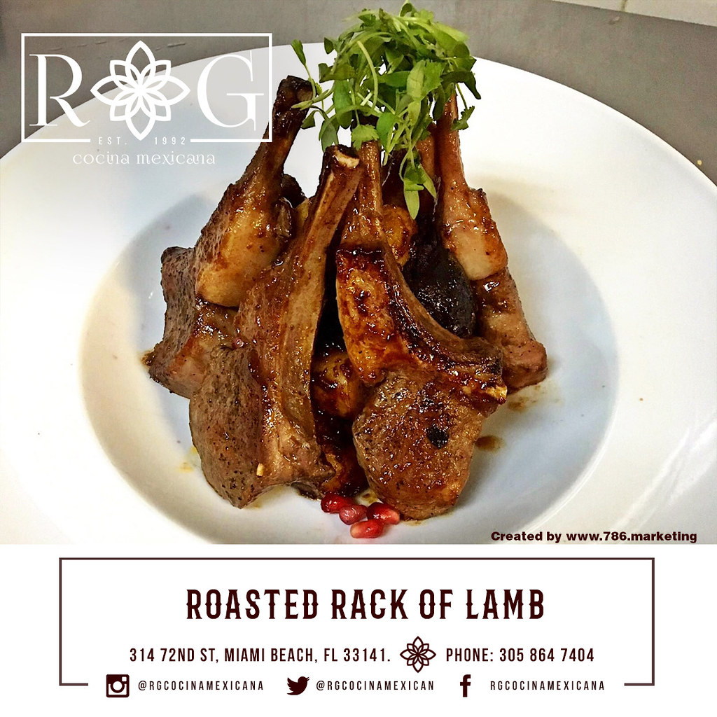 "roasted rack of lamb | ""It's all about trying new stuff. How ..."