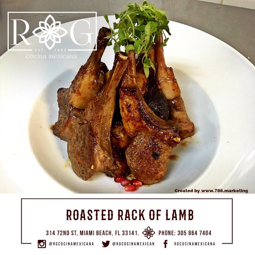 rack of lamb with a creamy tahini and mint sauce roasted boneless leg ...