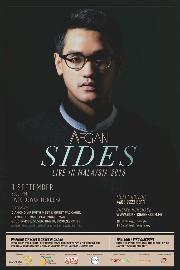 Konsert AFGAN - SIDES Live in Malaysia 2016 di PWTC