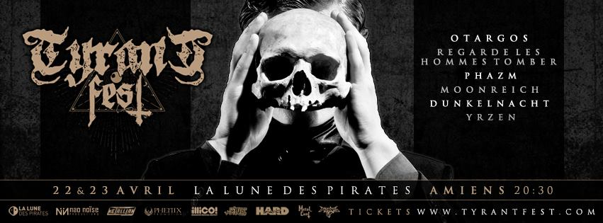 Tyrant Fest - Jour 1 @La Lune des Pirates, Amiens 22/04/2016
