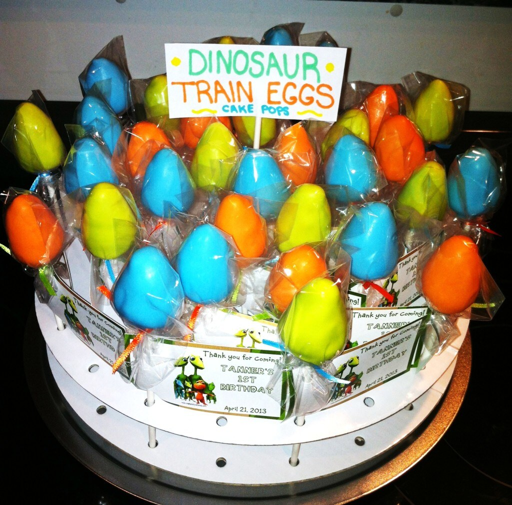 Dinosaur Train Cake Pops Cute Dinosaur Egg Cake Pops For