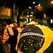 Brazilian Flag Mantle