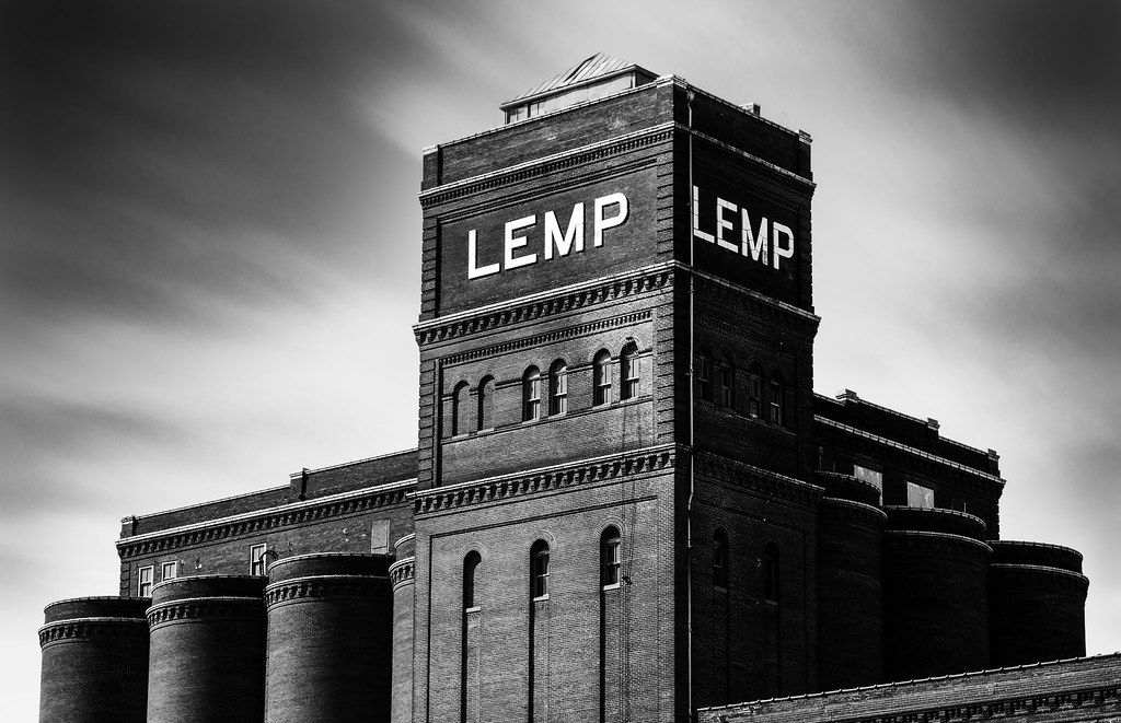 The abandoned Lemp Brewery