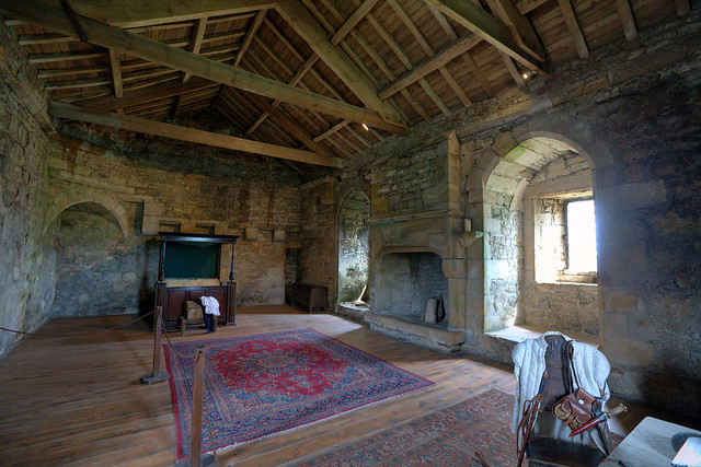 The Baron's Bed Chamber, Bolton Castle | Flickr - Photo